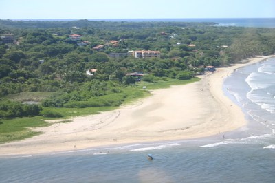 Playa Tamarindo Santa Cruz Guanacaste Costa Rica Tamarindo Arial Beach View.jpg